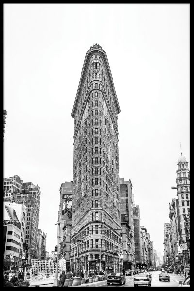 Flat Iron Building NYC Plakat