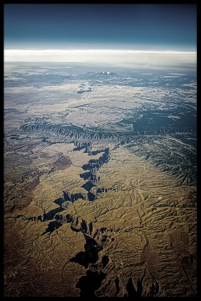 Grand Canyon Aerial Plakat