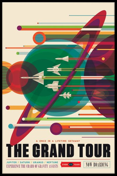 NASA Grand Tour Plakat