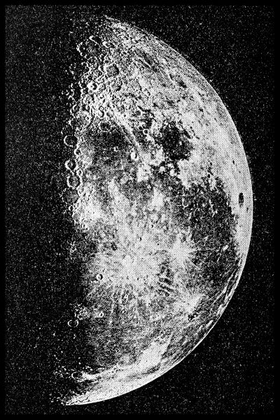 The Moon Plakat