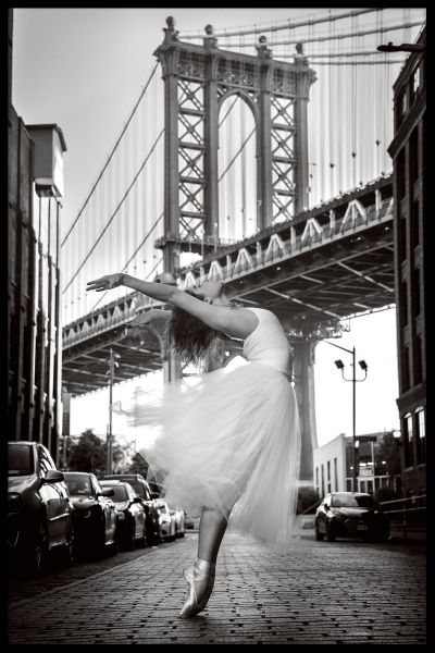 Brooklyn Ballerina Plakat