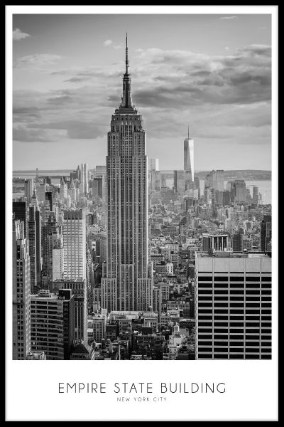 Empire State Building Plakat