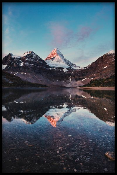 Mountain Reflections N01 Plakat