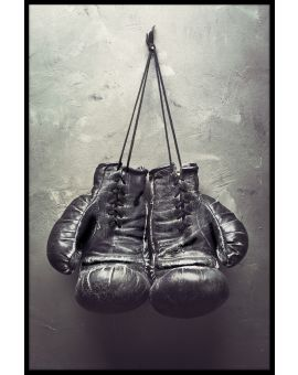 Hanging Boxing Gloves Plakat