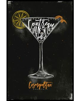 Cosmopolitan Cocktail Plakat