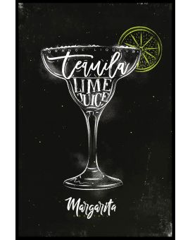 Margarita Cocktail Plakat
