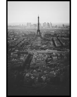 View Over Paris Plakat