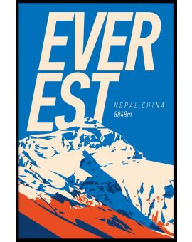 Everest Vintage Plakat