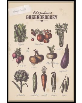 Greengrocery Plakat
