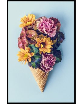 Flower Ice Cream Plakat