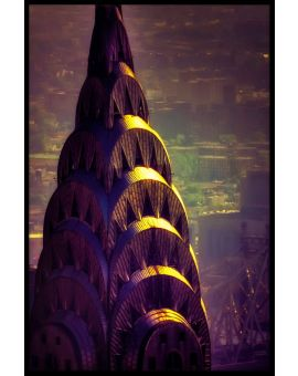 Chrysler Building N02 Plakat
