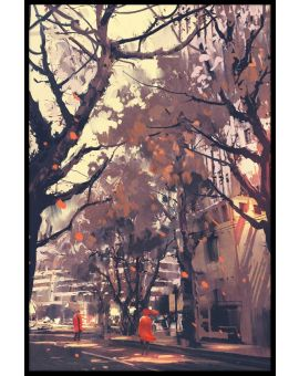 City Street Painting N04 Plakat