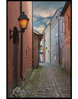 Finland Old Town Plakat