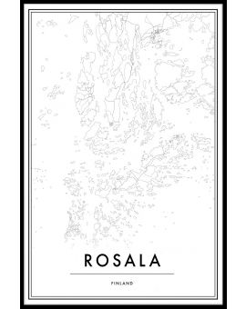 Rosala Map Plakat