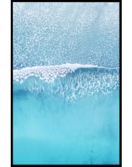 Aerial Beach Wave Plakat