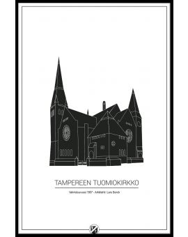 Tampere Cathedral Plakat