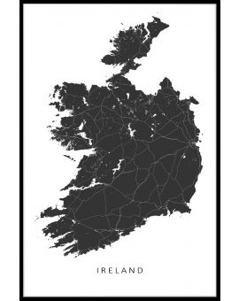 Ireland Map Plakat
