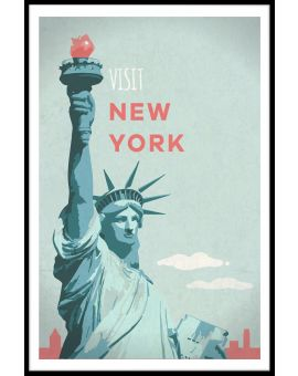 Visit New York Plakat