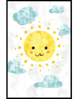 Happy Sun Plakat