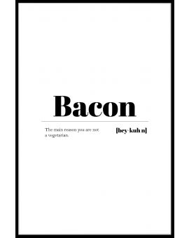 Bacon Plakat
