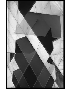 Building Abstract N03 Plakat