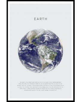 Earth Plakat