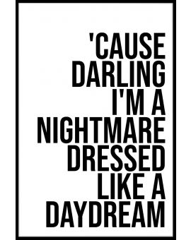 I'm a Nightmare Plakat